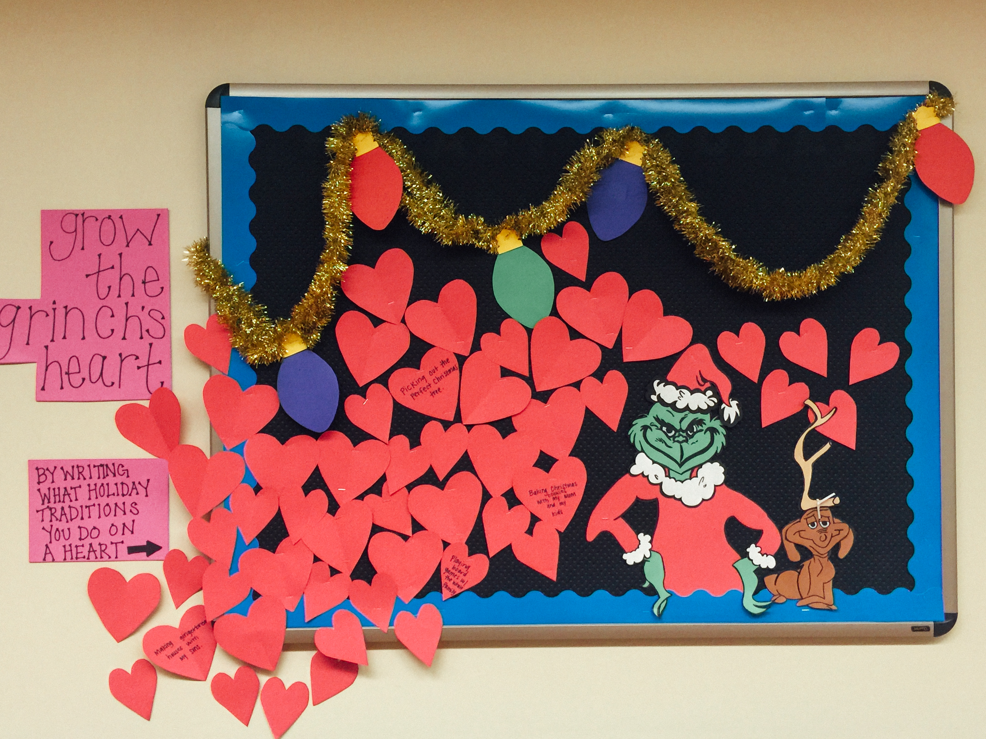 Christmas bulletin boards frugal freehand